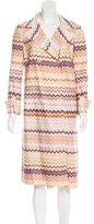 Missoni Double-Breasted Long Coat