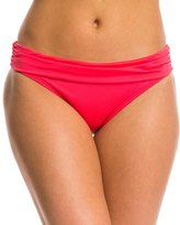 Kenneth Cole Reaction Solid Ruffle Sash Hipster Bottom 7532491