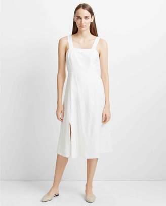 Club Monaco Jaylinne Linen-Blend Dress