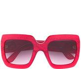 Gucci oversize square frame sunglasses