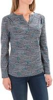 Royal Robbins Essential Printed Henley Shirt - UPF 50+, Long Sleeve (For Women)