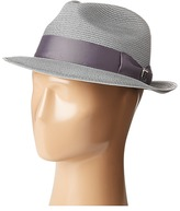 Stacy Adams Pinch Front Braid Fedora