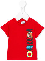 Moschino Kids - logo print T-shirt - kids - Cotton - 6-9 mth