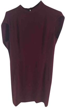 Maison Margiela Burgundy Synthetic Dresses