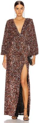 retrofete Camille Dress in Orange Mix | FWRD