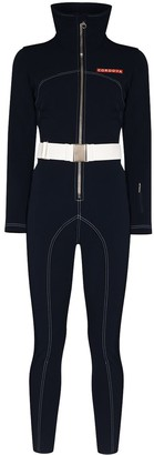 Cordova Contrast Stitching Belted Ski Jumpsuit