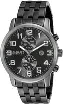August Steiner Men's AS8175BK Analog Display Japanese Quartz Watch