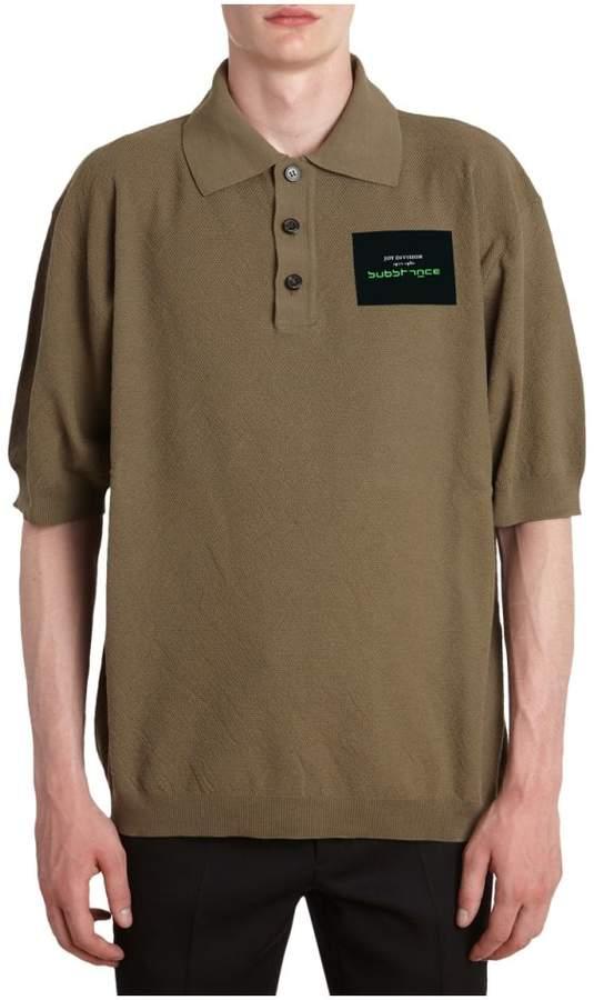Raf Simons Substance Cotton Polo T-shirt