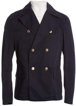 DSQUARED2 Navy Cotton Jackets