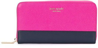 Kate Spade Zip-Around Continental Wallet