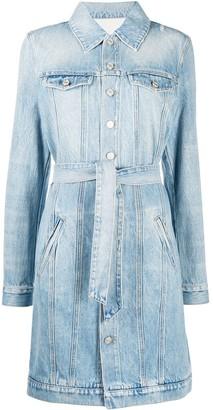 Givenchy Belted Denim Dress