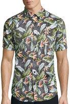 DC Co. Short-Sleeve Feather Fade Woven Shirt