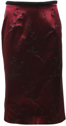 Alessandro Dell'Acqua Red Synthetic Skirts