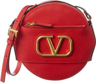Valentino Vlogo Leather Crossbody
