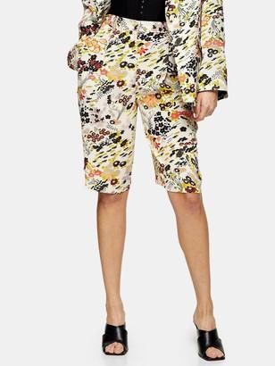 Topshop Idol Oriental Printed Shorts - Multi