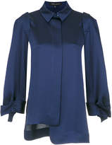 Gloria Coelho detachable sleeves shirt