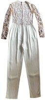 ZUHAIR MURAD White Silk Jumpsuit for Women