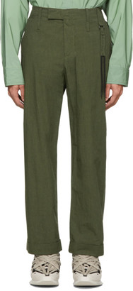 Craig Green Green Uniform Trousers