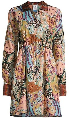 M Missoni Paisley Silk Shirtdress