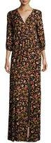 Rachel Pally Armand Floral-Print Long Slit-Front Maxi Dress, Plus Size