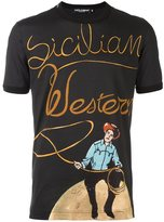 Dolce & Gabbana Sicilian Western print T-shirt
