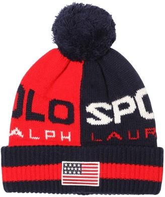 Polo Ralph Lauren Wool Blend Knit Hat
