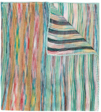 Missoni Striped Pattern Scarf