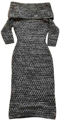 Christian Dior Grey Cashmere Dresses