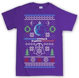 Customised Perfection Christmas Xmas Ugly Sweater Force Awakens T Shirt L