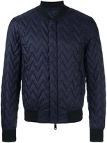 Armani Jeans quilted bomber