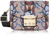 Furla Antilope Leather Metropolis Mini Crossbody Bag