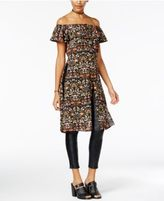 Material Girl Juniors' Off-The-Shoulder Maxi Top, Only at Macy's