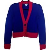 Miu Miu Handmade Two Tone Wool Cardigan