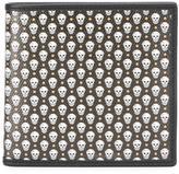 Alexander McQueen micro skull wallet - men - Canvas/Cotton - One Size