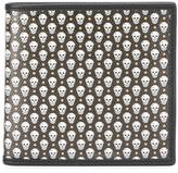 Alexander McQueen micro skull wallet - men - Cotton/Canvas - One Size