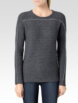 Paige Helena Sweater - Charcoal Grey