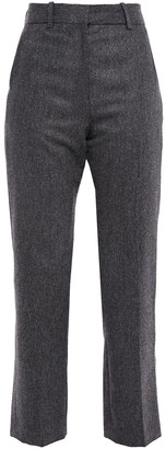 Sandro Twill Straight-leg Pants