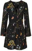 Botanical t-bar dress