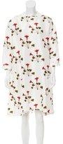 Rachel Comey Silk Floral Print Dress