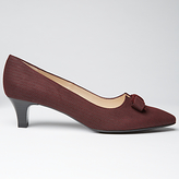 Peter Kaiser Saris Pointed Toe Bow Court Shoes