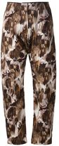 Anne Sofie Madsen cropped printed trousers