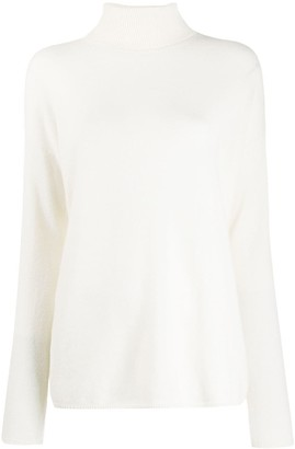 Iris von Arnim Loose-Fit Turtleneck Jumper
