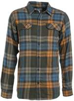 Columbia Flare Gun Shirt Canyon Gold Blanket Plaid