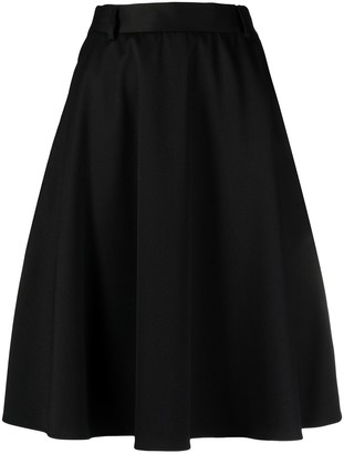 MM6 MAISON MARGIELA Colour Block Full Skirt