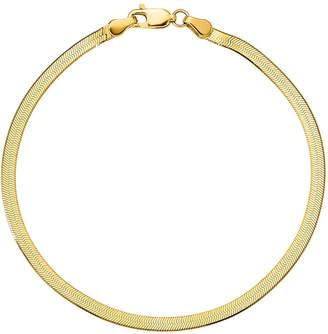 FINE JEWELRY 7 Inch Solid Herringbone Chain Bracelet