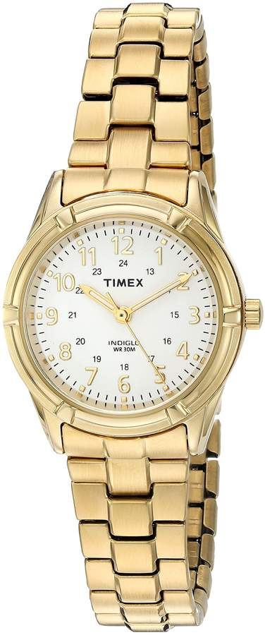 Timex Women's 'Easton Avenue' Quartz Brass and Stainless Steel Casual Watch, Color:Gold-Toned (Model: TW2P891009J)