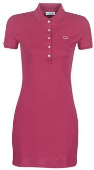 Lacoste EF8470 women's Dress in Pink
