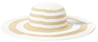 Lauren Ralph Lauren LRL Striped Sun Hat Ld92