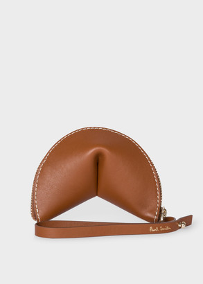 Paul Smith Women's 'Half Moon' Tan Leather Keyring Pouch