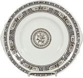 One Kings Lane Vintage English Pompeii Scene Serving Plate - 2-b-Modern - white/brown